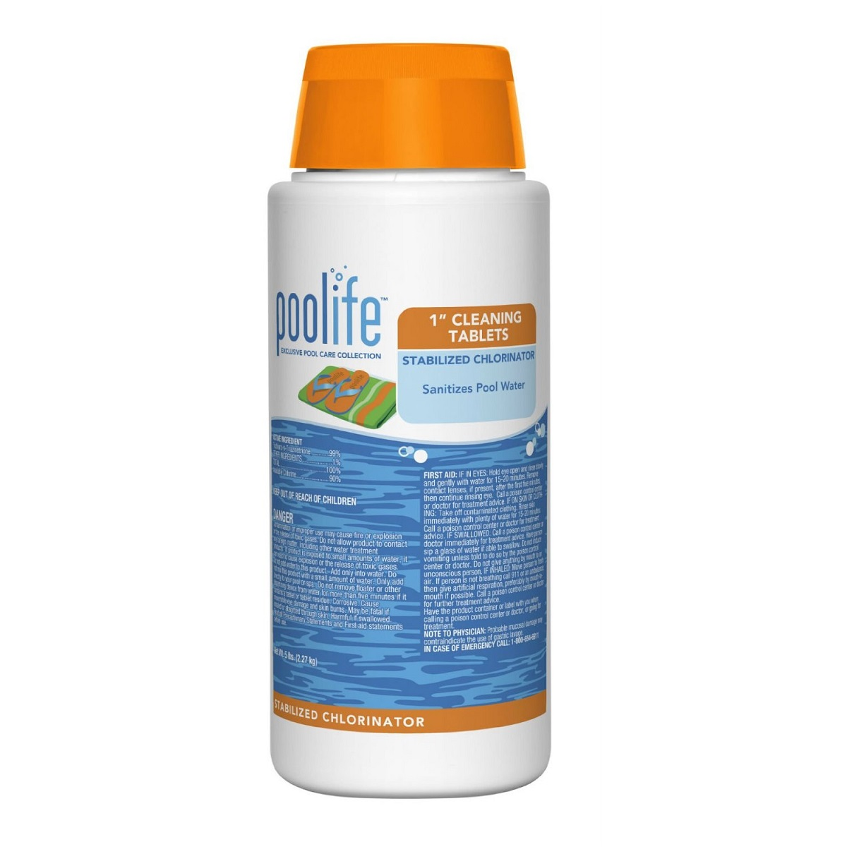 Poolife 1 Cleaning Tablets Stabilized Chlorinator Charlottesville