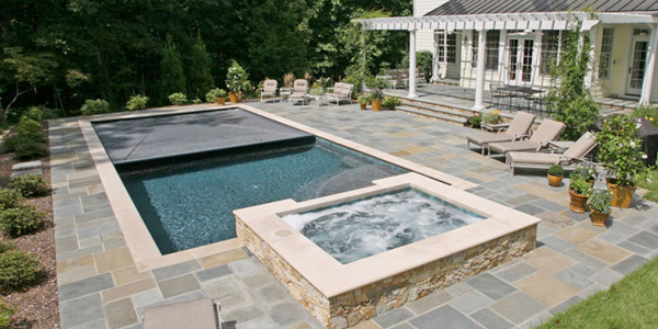 Concrete Pools Family Image