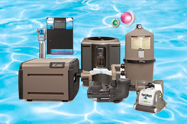 Hayward Pool Equipment Family Image