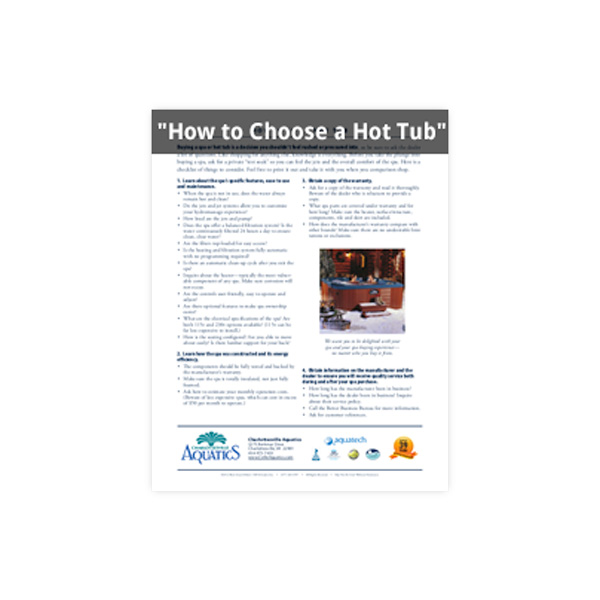 How to Choose a Hot Tub Report Family Image